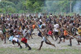Perang suku ancam anak Papua