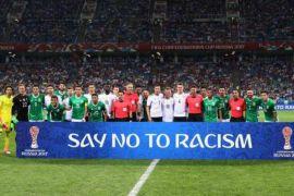 Suporter seluruh dunia lawan rasisme