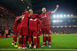 Liverpool kembali ke puncak klasemen sementara Liga Inggris