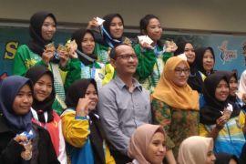 Tim bridge Mataram juara umum Porprov NTB