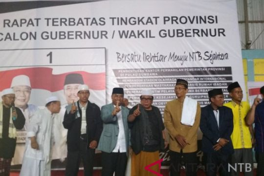 Suhaili-Amin Kampanye Perdana di Lombok Barat
