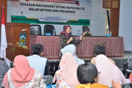 Dikes: kasus pneumonia di Lombok Barat tinggi