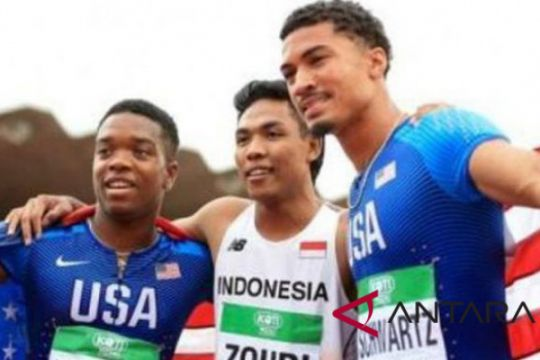 Zohri penggila bola menjadi pelari internasional