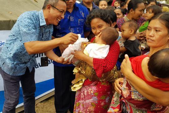 BueBird salurkan bantuan untuk anak-anak terdampak gempa di NTB