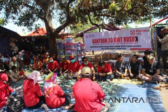 Bhineka Life dirikan puluhan Rusuk untuk Lombok