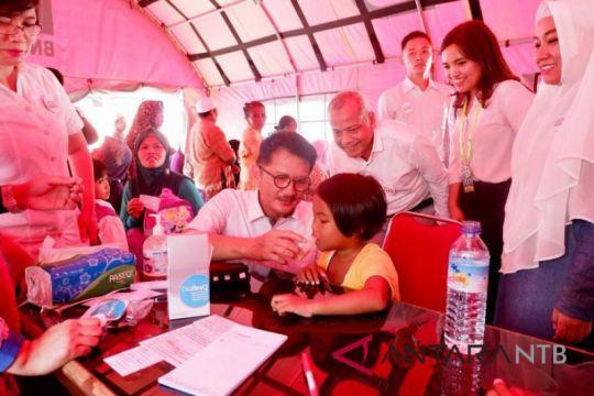 Kimia Farma salurkan obat diare untuk Lombok