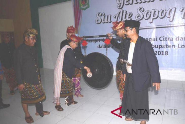 Bupati Lombok Utara buka acara