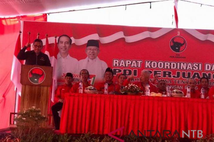 80 persen suara Jokowi/Ma'ruf ditargetkan di NTB
