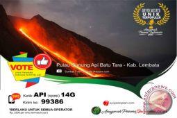 Gunung Batu Tara Meletus Tiap 20 Menit