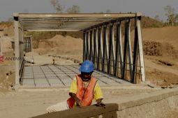 Pemerintah bangun jembatan penghubung Antarlintas Batas Negara