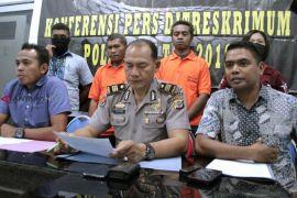 Polisi amankan dua tersangka kasus perdagangan orang