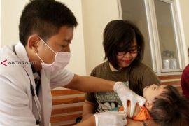 Imunisasi MR di NTT baru mencapai 76,17 persen
