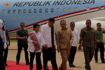 Presiden Jokowi Tiba di Kupang