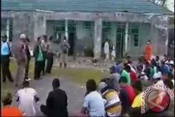 Plh Kalapas Timika terluka saat tahanan mengamuk