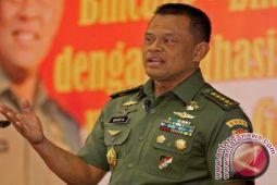 Survei capres: elektabilitas Gatot Nurmantyo lebih tinggi dari Prabowo