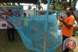 Dinas Kesehatan Biak Numfor bagikan 45.900 kelambu berinsektisida
