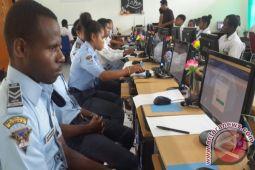 Mendorong sekolah di Mimika selenggarakan UNBK