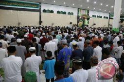 Masjid Babussalam Timika dipadati jamaah shalat tarawih