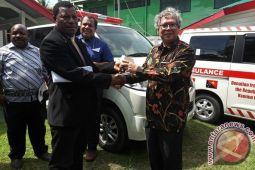 Indonesia serahkan dua ambulans ke Otoritas Kesehatan PNG