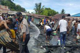 Polisi Jayapura selidiki kebakaran rumah di Hamadi