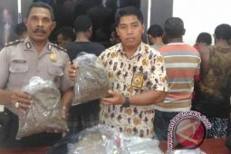 Polisi Jayapura Kota tangkap belasa pengedar ganja