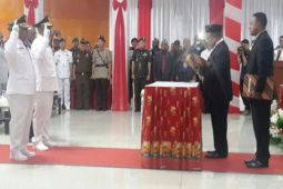 Yuni Wonda resmi jabat Bupati Puncak Jaya