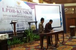 Jamkrida Papua dan LPDB menandatangani Mou dana bergulir