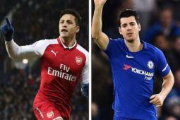 Arsenal bermain imbang 2-2 melawan Chelsea