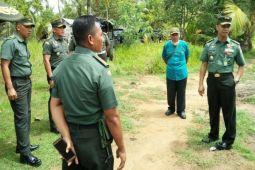 Mabes TNI AD tinjau lokasi pembangunan Subdenpom Merauke