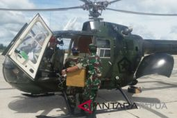 TNI kerahkan dua unit helikopter ke Asmat