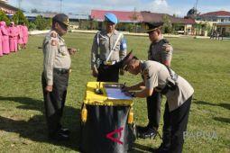 Kapolres Jayawijaya ganti Kasat Shabara dan Kapolsek KP3 Udara