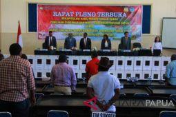 Rapat pleno rekapitulasi suara Pilgub Papua kembali ditunda