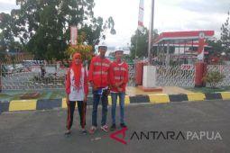 Siswa difabel Aceh senang berkunjung ke Papua