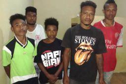 Polres Biak tangkap lima pencuri motor