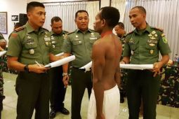 32 pemuda pedalaman Papua lulus calon Tamtama TNI AD