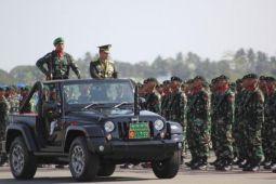 Kasad pimpin upacara HUT TNI di Merauke
