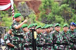 Pangdam Cenderawasih pimpin penerimaan-pelepasan Satgas Pamtas RI-PNG