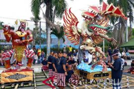 Umat Hindu Jayapura selenggarakan Festival Ogoh-ogoh