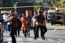 Pascaledakan bom di Surabaya