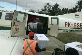 KPU Yalimo mulai distribusikan logistik Pilgub Papua
