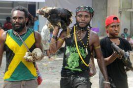Pemuda Papua siap Bakar Batu
