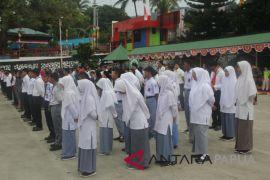 Peserta SMN Aceh akhiri kegiatan di Papua