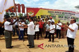 Cakra 19 deklarasi dukungan untuk Jokowi-Ma`ruf  di Merauke