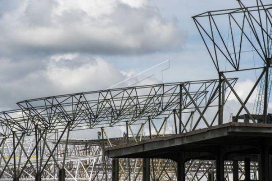 Pembangunan terminal Bandara Mozes Kilangin Timika