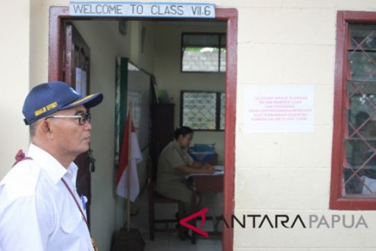 Peserta UN SMP di Papua 3.910 orang