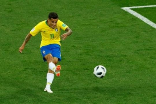 Brasil dan Swiss bermain imbang 1-1