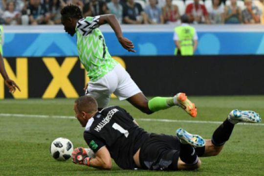 Nigeria berpeluang ke 16 besar setelah kalahkan Islandia 2-0