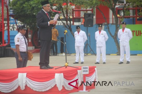 Upacara Hari Kemerdekaan RI versi BUMN di Papua