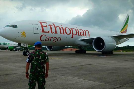 TNI AU Jelaskan Alasan Pemaksaan Mendarat Pesawat Ethiopian Air