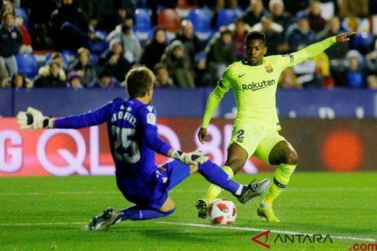 Barcelona Kalah 1-2 di markas Levante